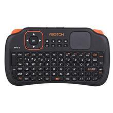 Мини 2,4G беспроводной мультимедийный Эргономичный игровой ПК Smart tv Air mouse Клавиатура Пульт дистанционного управления игровая консоль