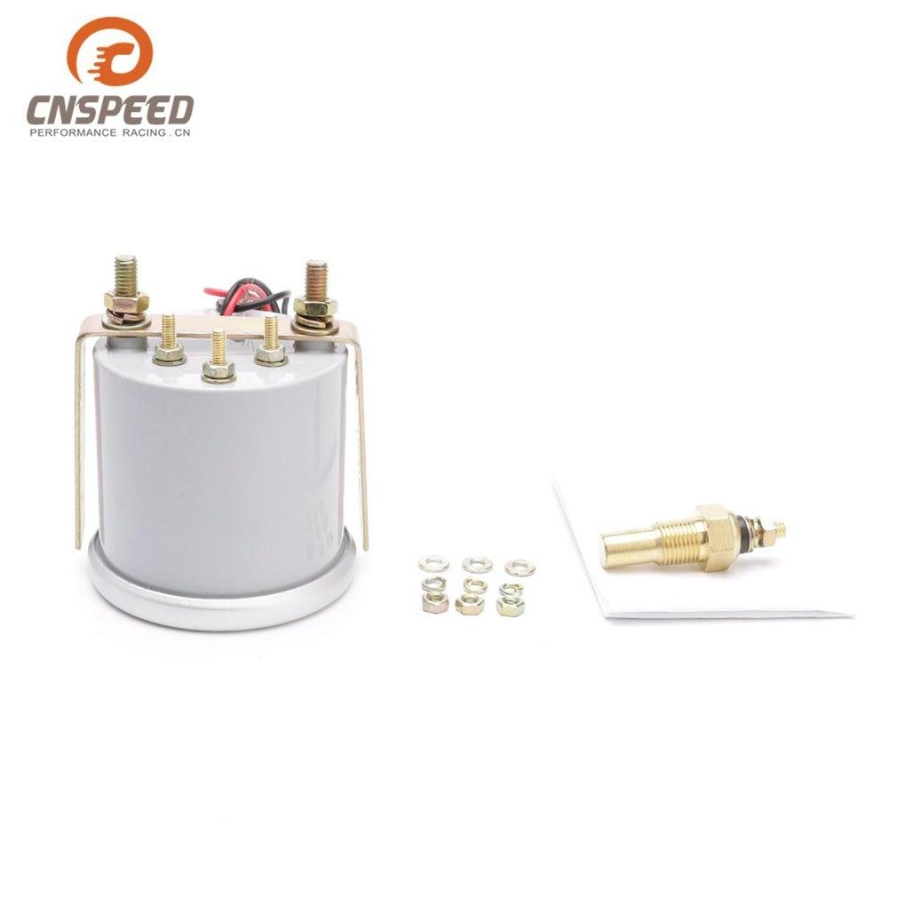 CNSPEED 12 V Auto Car LED Digital Bar Turbo Boost Gauge Meter 52mm Lente de Humo para la Reparaci/ón Universal de Modificaci/ón de Coche