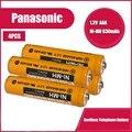 4 шт. Panasonic 1,2 v 630 мА/ч, никель-металл-гидридная аккумуляторная AAA бренд Аккумуляторы для беспроводного телефона беспроводной клавиатуры и мыш...