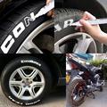 10 шт./лот водонепроницаемые масляные перманентные маркеры, набор ручек для рисования белого цвета, граффити-ручка для автомобиля, мотоцикла...