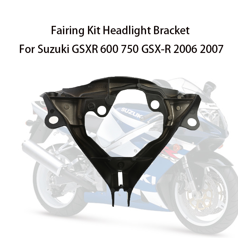 Motorcycle <font><b>Fairing</b></font> Headlight Bracket for Suzuki GSX-R 2006 <font><b>2007</b></font> <font><b>GSXR</b></font> <font><b>600</b></font> 750 Moto Accessories Vespa image