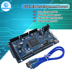 За ребенком R3 доска AT91SAM3X8E SAM3X8E 32-битный ARM Cortex-M3 Управление борту модуль для Arduino макетная плата