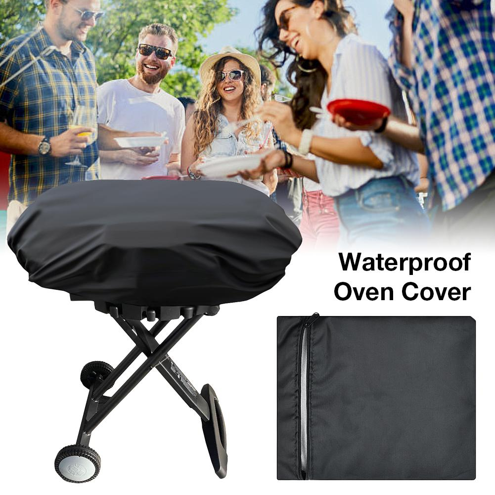 New Oven Cover Waterproof Rain Cover Grill Protection Outdoor Storage Cover For Colemen Roadtrip LXE LXX 285 Grill