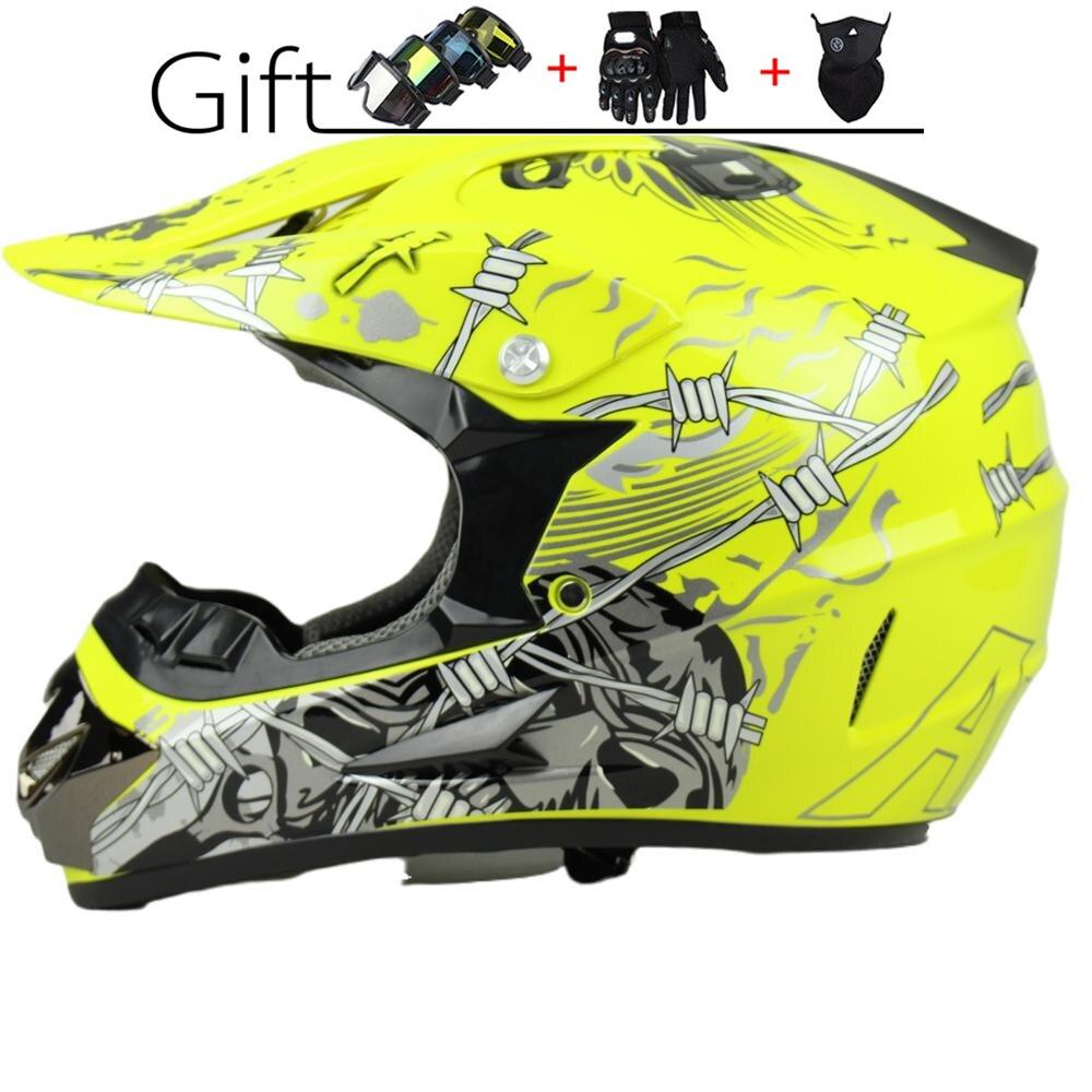 Men And Women Neutral AM Off-road Motorcycle Helmet Birthday Present ATV Vehicle Downhill DH Mountain Bike Racing Helmet