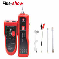 JW-360 LAN Network Cable Tester Cat5 Cat6 RJ45 UTP STP Detector Line Finder Telephone Wire Tracker Tracer Diagnose Tone Tool