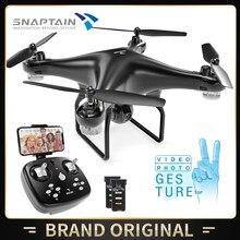 SNAPTAIN SPF600MQ WiFi dron FPV z kamerą zdalnie sterowany Quadcopter lądowanie 720P kamera HD głos wideo kontrola gestów dla początkujących