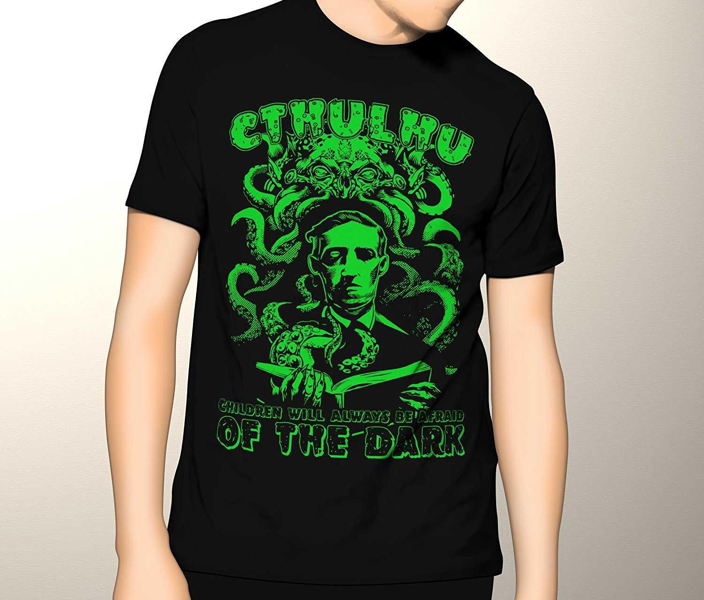 Cthulhu قميص HP. Lovecraft الرعب قسط الجرافيك تي شيرت