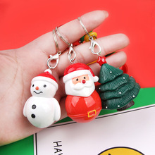 Merry Christmas Ornaments Christmas Keychains Tree Decorations 2020 Noel Santa Claus Snowman Elk Pendants Christmas Party Decor smkj e1hq christmas colored hair ball decorative snowman ornaments 10 pcs
