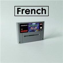 Secret of Mana 2 французский язык карта для игры RPG EUR версия батареи на английском языке