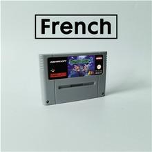 Segredo de mana 2 língua francesa rpg cartão de jogo eur versão inglês língua bateria salvar
