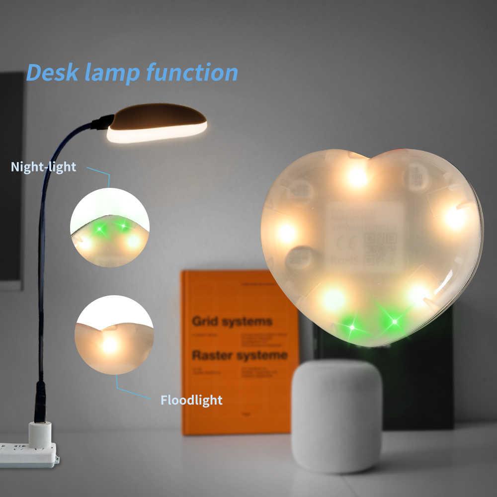 Timethinker Tuya Rumah Pintar IR Remote Kontrol Bekerja dengan Amazon Alexa Google Home Jantung Bentuk Lampu LED PK untuk Broadlink xiaomi