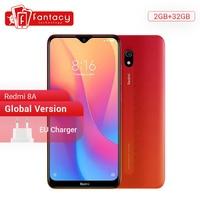 Global Version Xiaomi Redmi 8A 8 A 2GB 32GB 6.22 Snapdargon 439 Octa core Mobile Phone 5000mAh 12MP Camera Smartphone