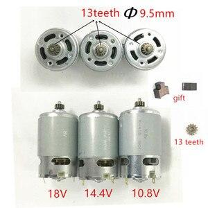 Image 1 - 13 Teeth Motor 10.8V 12V 14.4V 18V RS 550VC Replace  For BOSCH MAKITA HITACHI HILTI RYOBI CORDLESS DRILL