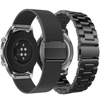 Metalen Band Band Voor Huawei Horloge 22Mm GT1//GT2E/GT2-46MM Honor Magic Band Armband Roestvrij Band Ticwatch 1/Pro Polsband