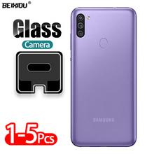 5 sztuk obiektyw aparatu szkło hartowane dla Samsung Galaxy M11 6 4 #8222 szkło ochronne Screen Protector dla Galaxy M11 SM-M115F DSN tanie tanio DUNTIS CN (pochodzenie) Aparat Len Filmu Anti-Blue-ray for Samsung Galaxy M11 SM-M115F DSN