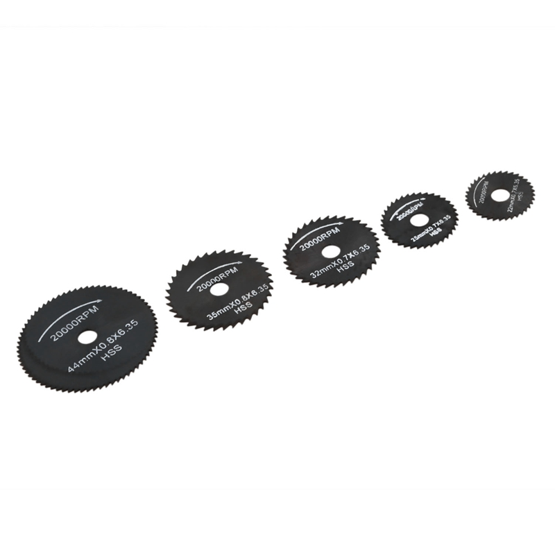 New 6pcs Metal HSS Circular Saw Blade Set Cutting Discs For Dremel Rotary Tool
