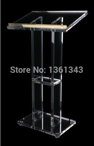 Clear Acrylic   Podium/Simple Transparent Acrylic Lectern Podium/.acrylic Podium Pulpit Lectern.acrylic Podium Plexiglass