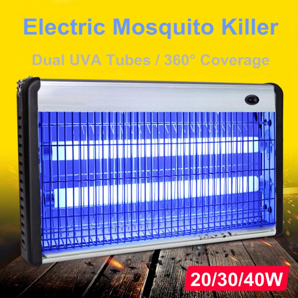 Electric Insect Killer LED UV-A Electronics Mosquito Repeller Pest Fly Bug Zapper Catcher Traps Home Pest Control Lamp 20/30/40W