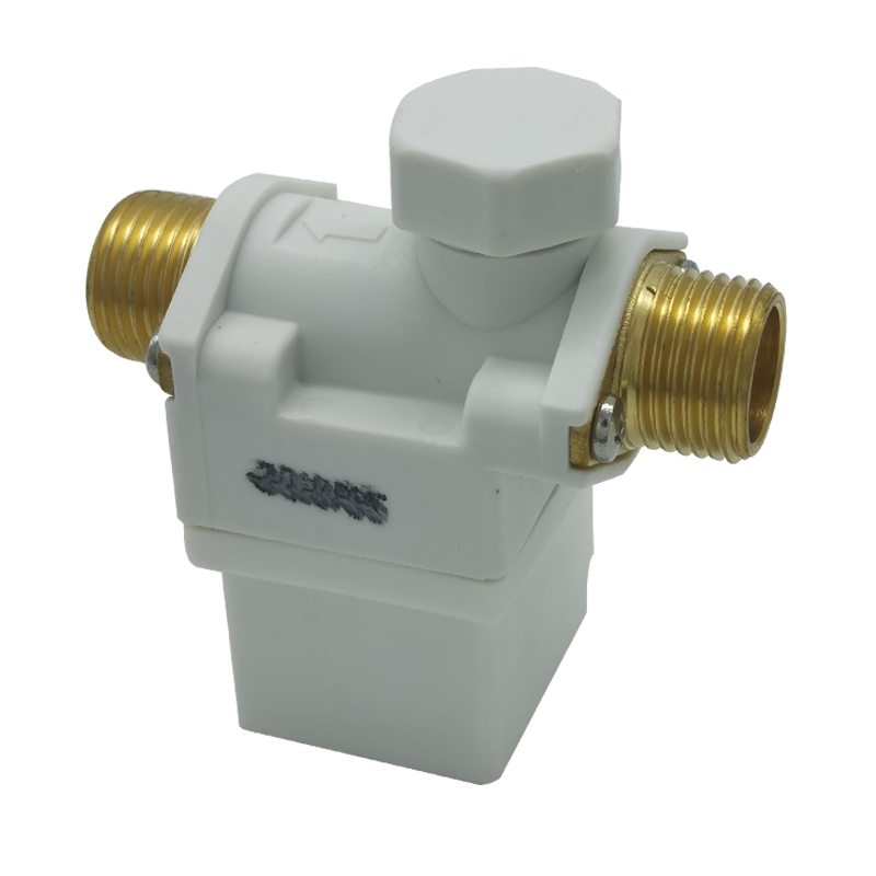 New AC 220V Electric Solenoid Valve Water Air N/C Normally Closed 0 - 0.8Mpa Diaphragm Valves For 1/2