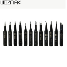 10pcs 936 welding head lead-free pointed mouth/little bit/sharp/horseshoe general 900 - m - T C Lead - free soldering iron tip