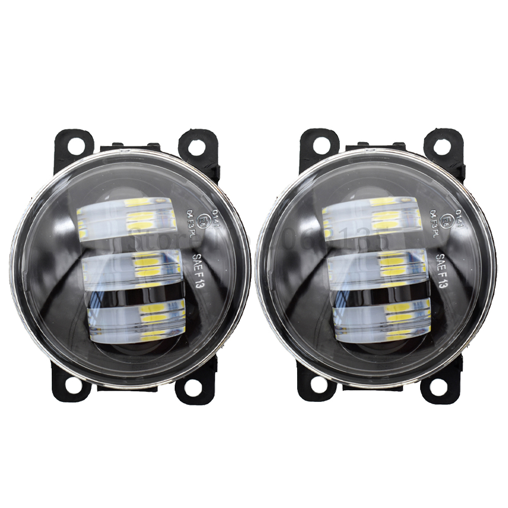 2pcs/lot high quality LED fog <font><b>Lights</b></font> For <font><b>Mitsubishi</b></font> <font><b>Outlander</b></font> XL 2007-2013 For <font><b>Mitsubishi</b></font> ASX 2007-2013 image