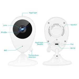 Image 2 - 2.5 인치 무선 베이비 모니터 비디오 컬러 베이비 보모 보안 카메라 나이트 비전 온도 음악 LCD 모니터 베이비 카메라