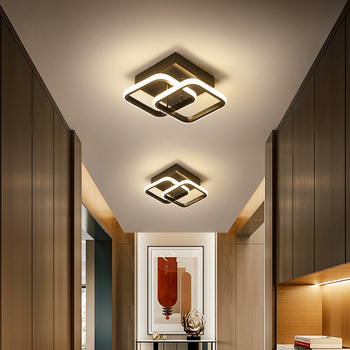 modern led ceiling lights 40 60cm for bedroom cloakroom ceiling lamp aisle corridor balcony lamps white black lighting fixture Modern Ceiling Lamps For Kitchen Living room Gold Black Led Ceiling Light For Bedroom Corridor White Balcony Lamp Luminaires