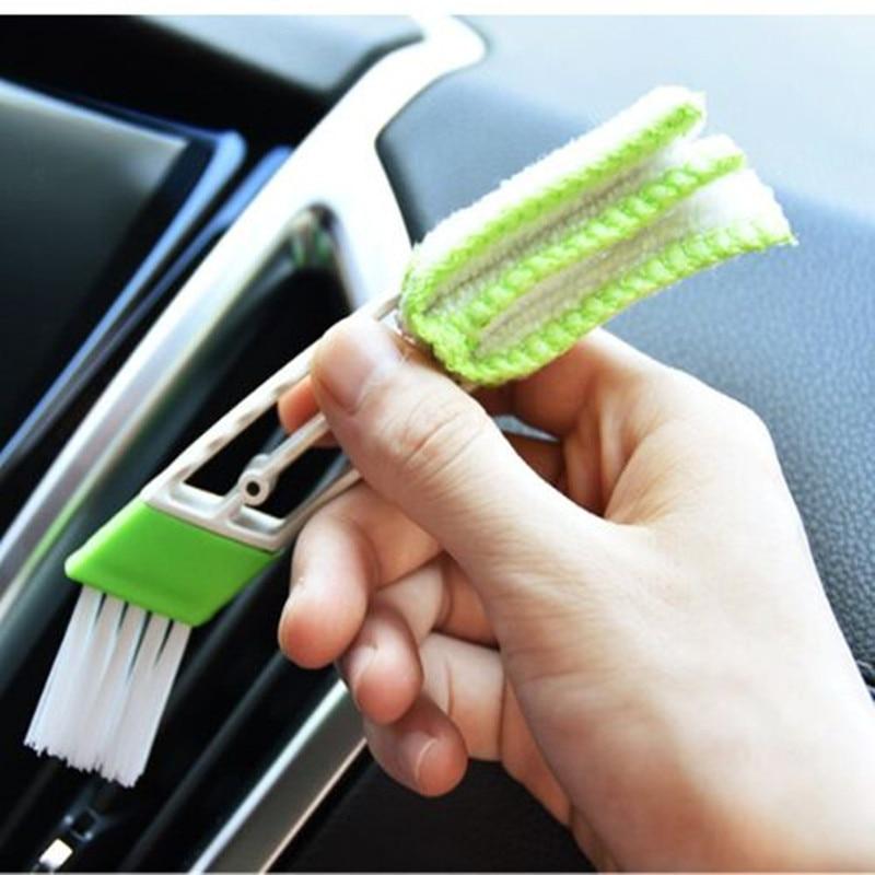 Car Cleaning Double Side Brush Sticke Fit For Citroen C4 C5 C3 Picasso Xsara Berlingo Saxo C2 C1 C4L DS3 Xantia DS4 C8