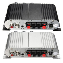 12V Car Amplifier Mini HiFi Stereo Audio Power Amplifier Sub