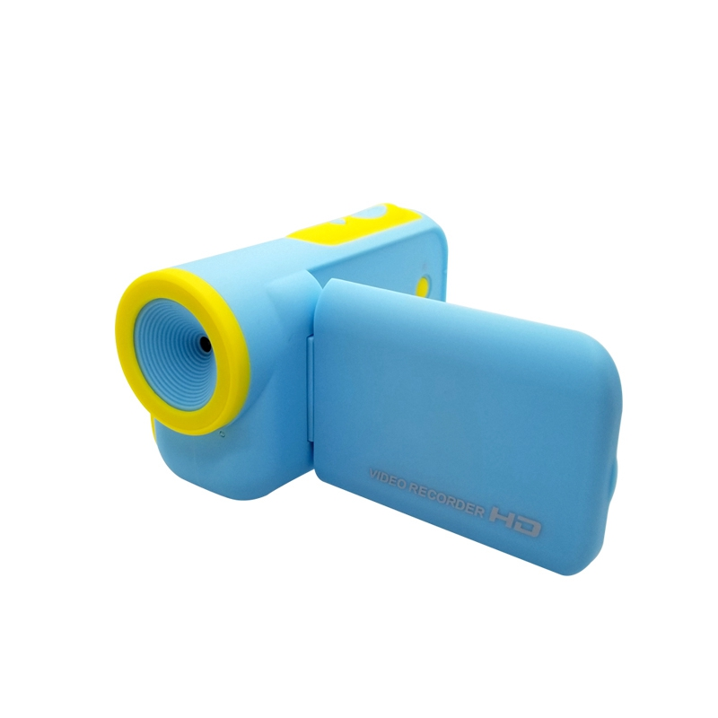 2 Inch TFT Display Screen Kids Camera DV 4X Zoom Cartoon Camcorder 8G Memory 1600W 4 Times Digital Zoom Reliable