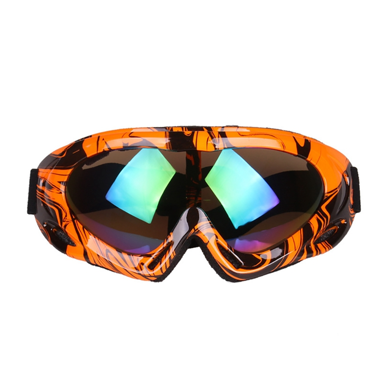 Ski Goggles Adult Child Windproof Dust-proof Adjustable UV 400 Outdoor Climbing Sports Protective Snow Glasses Eyewear