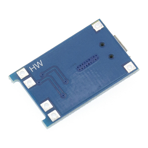 Image 2 - 100Pcs TP4056 +Protection Dual Functions 5V 1A Micro USB 18650 Lithium Battery Charging Board Charger Module