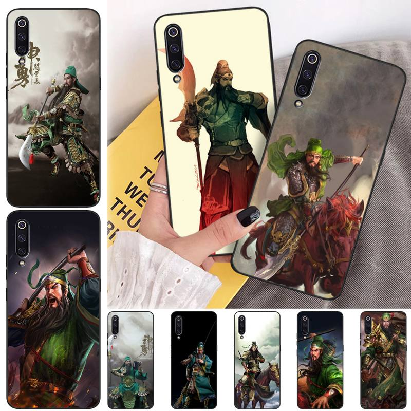 Tao Taoju Guan Yu Luxury Unique Design Phone Cover For Xiaomi mi 6 6plus a2 8 8se a2lite 8lite 9 9se mix2