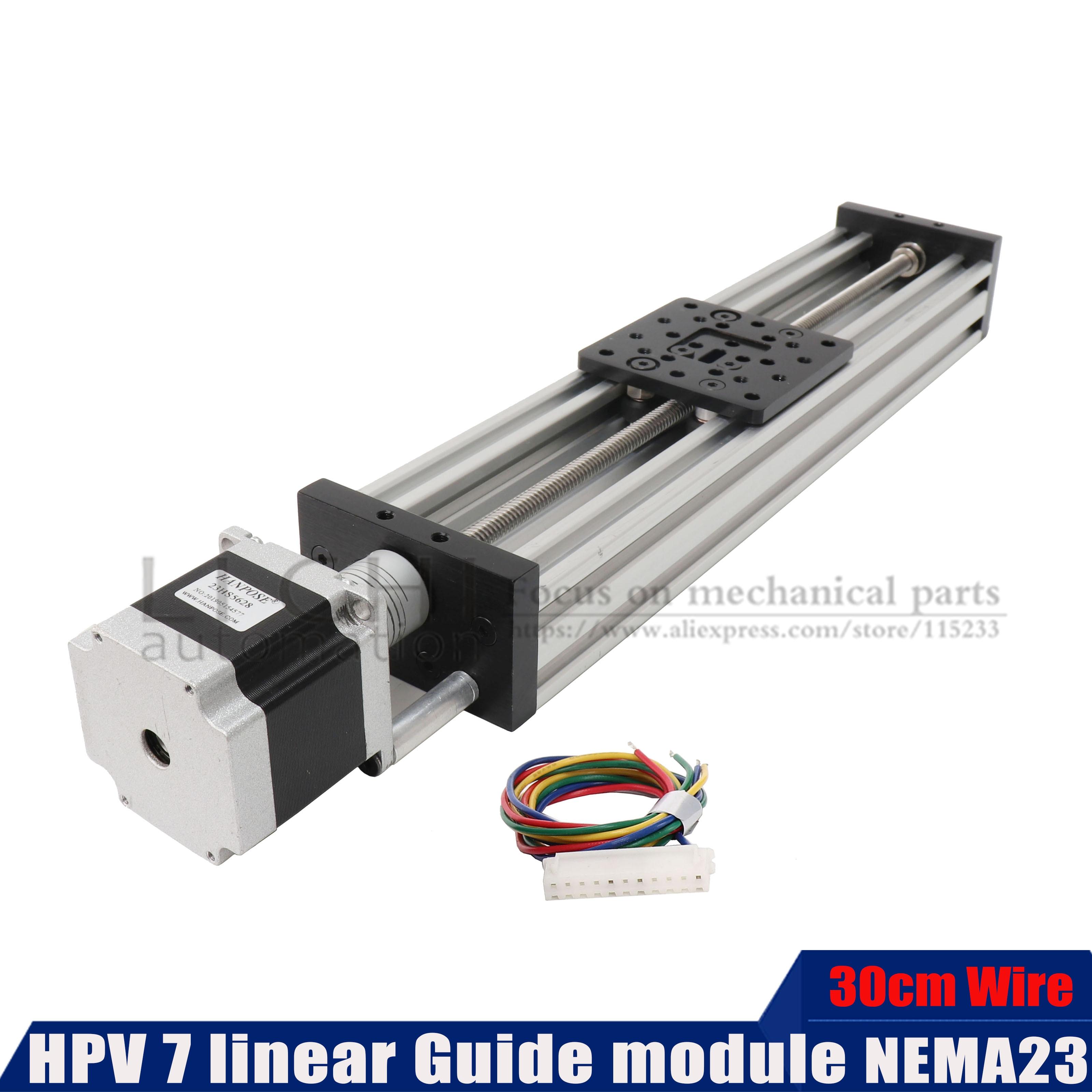 HPV7 NEMA23 Stepper motor V-Slot Linear model 2mm 4mm 8mm 12mm Z-axis router kit Reprap 3D printer s