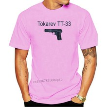 Camiseta de manga corta de Tokarev Tt 33 para hombre, camiseta de pistola rusa y rusa, 2019