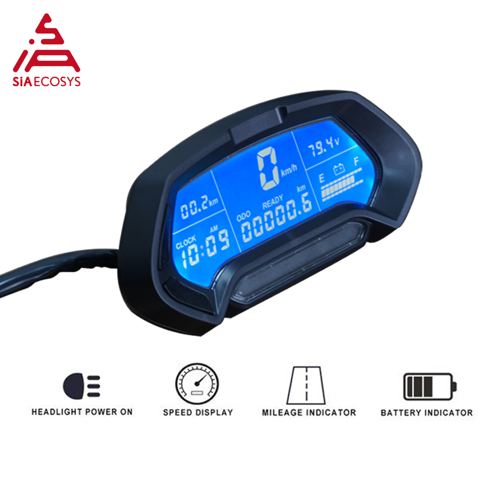 CT-22 48v-144v Universal Digital Programmable Electric Electronic Motorcycle Speedometer