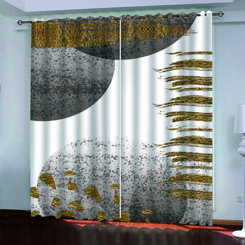 custom blackout curtains 3D cortinas cocina For any room window decoration