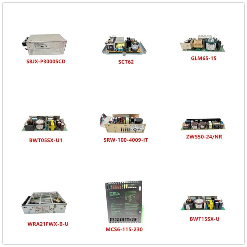 S8JX-P30005CD| SCT62| GLM65-15| BWT05SX-U1| SRW-100-4009-IT| ZWS50-24/NR| WRA21FWX-B-U| MCS6-115-230| BWT15SX-U Used