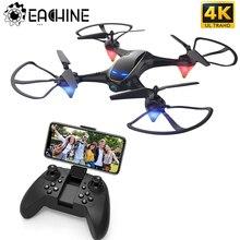 Eachine E38 WiFi FPV RC Дрон 4K камера оптический поток 1080P HD Двойная камера воздушная видео RC Квадрокоптер самолет Квадрокоптер игрушки