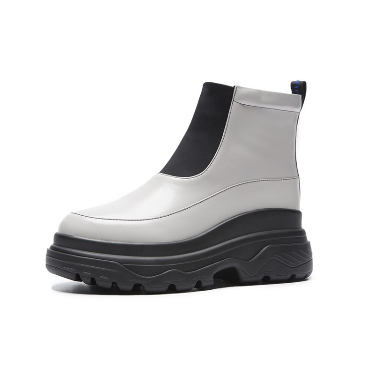 PUIMENTIUA Women 39 s Rain Boots Waterproof Shoes Woman Water Shoes Rubber Lace Up PVC Women Boots Sewing Solid Fashion Rainboots in Ankle Boots from Shoes
