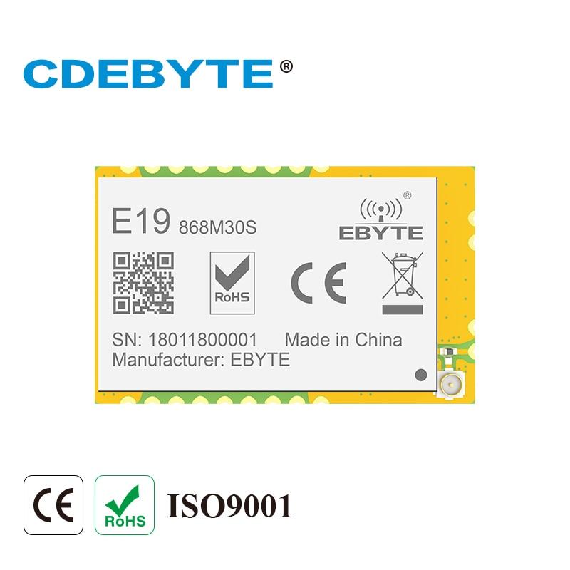 Ebyte E19-868M30S SX1276 868MHz 30dBm Long Range 10km SPI SMD IoT Wireless Transceiver Module