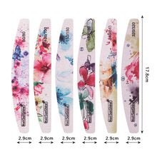 Nail Files - Gel Nail File - 25 pcs Butterfly Nail Files Sanding 80 100 150 180 240 for Nail Art Tips Manicure#ZH223 - Nail File недорого
