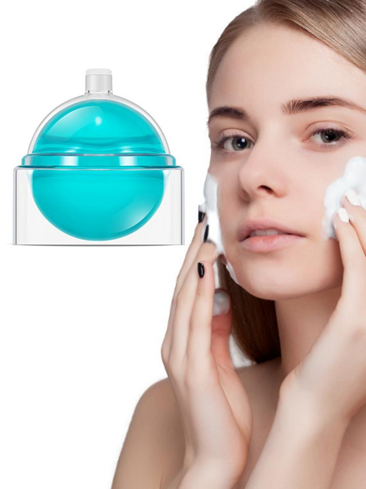 Deep Cleansing Foaming Acne Controlling Brightening Serum Skin Oil with Rotating Box in Electric Face Cleanser from Beauty Health