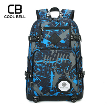 Camouflage School Backpack School Bags For Boys Oxford Waterproof Laptop School Backpack For Teenager Girls Outdoor Backpack oxford waterproof army green backpack male usb charger school backpack for girls travel laptop backpack school bags for boys bag