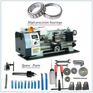 Image 5 - Brushless Motor Metal Lathe 2500RPM 750W Mini Bench Lathe Variable Spindle Speed Lathe Machine for Mini Precision Parts Process