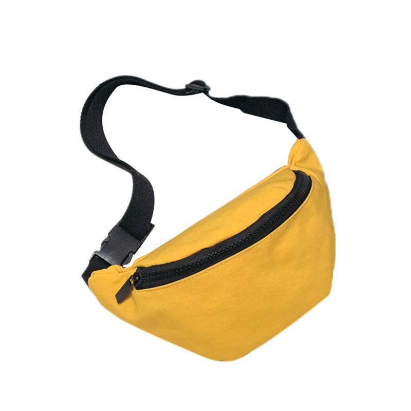 Fashion Children'S Bag Waist Bag Chest Bag Coin Purse Snack Pack Women New Hight Quality Women Fanny Pack(Yellow)