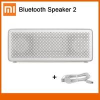 Xiaomi-altavoz Mi Square Box 2 con Bluetooth, altavoz estéreo cuadrado portátil, altavoz de alta definición, calidad de sonido, V4.2