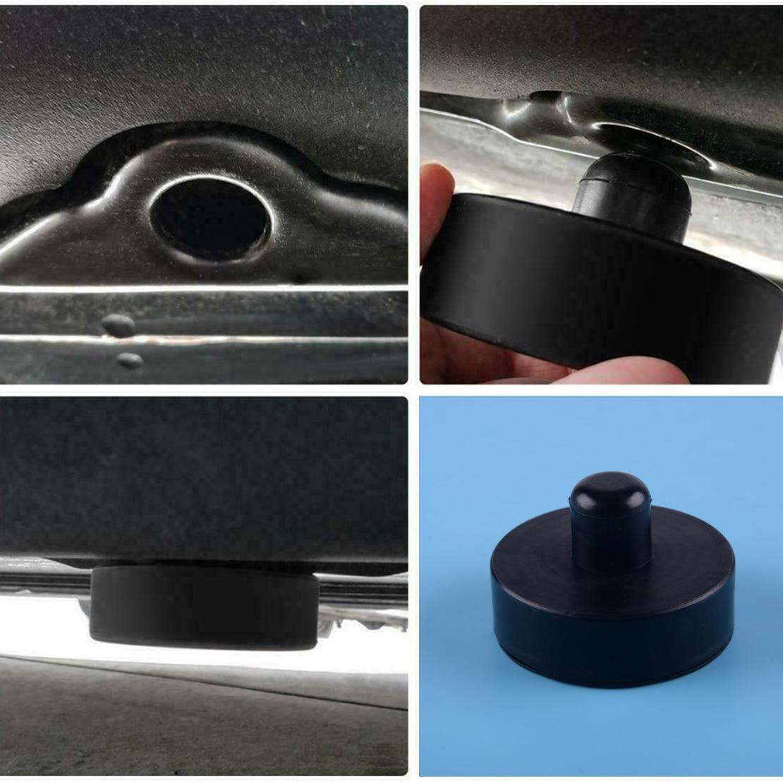 Beler Rubber Car Jack Lift Point Pad Adapter Safe Raise Tool Fit For Tesla Model 3 /S /X
