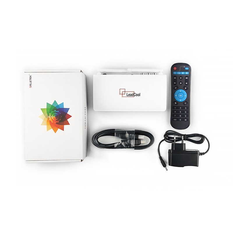 Image 5 - Leadcool Android IPTV France Box SUBTV IPTV Subscription 1 Year code RK3229 Full HD SUBTV Spain Dutch Italia Portugal IPTV Box-in Set-top Boxes from Consumer Electronics