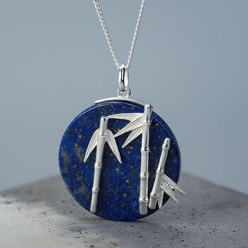 Creative Handmade Designer Unique Bamboo Pendant Fine Jewelry3